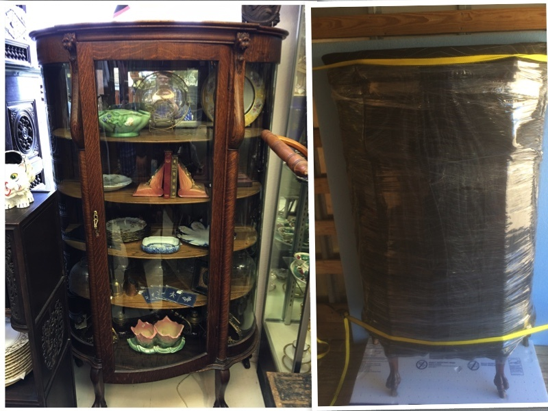 Antique Hutch Shipment
